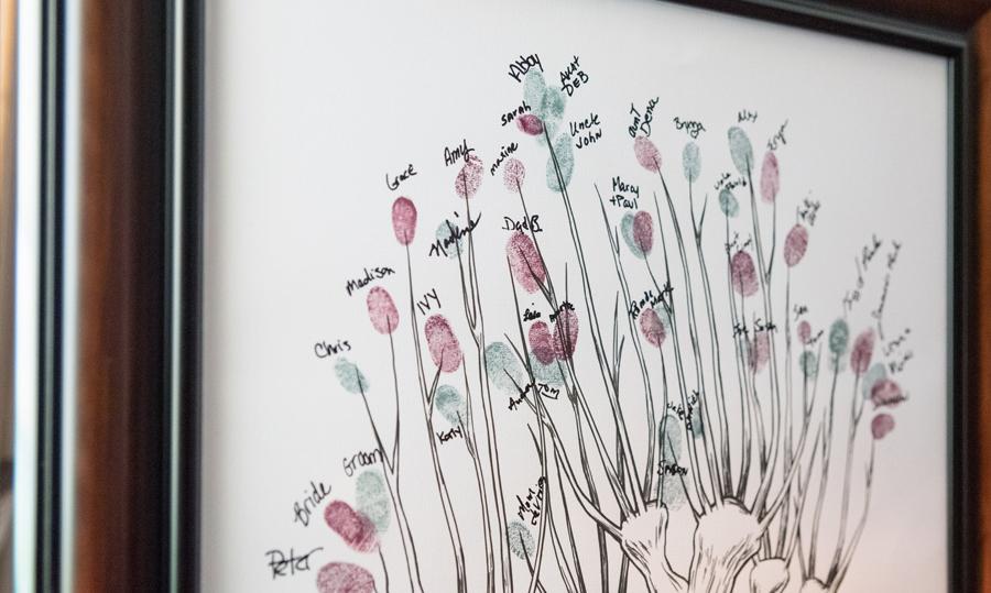 Fingerabdrucke - 9 einzigartige Gästebuch-Ideen für jeden Anlass